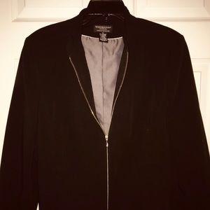 Black Worthington Works Lined Stretch Jacket